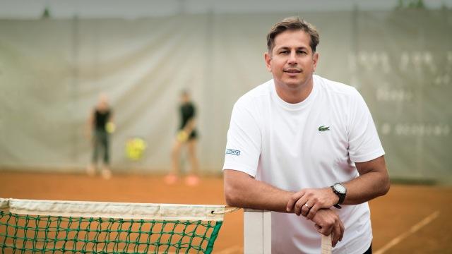 Vladimír Pláteník - tenisový tréner